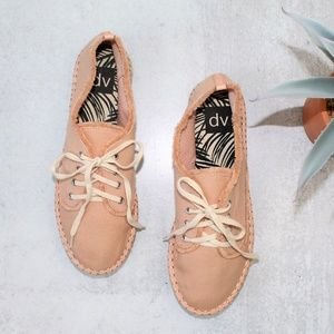 NWOT DV Dolce Vita Pink Espadrille Roxie Sneakers